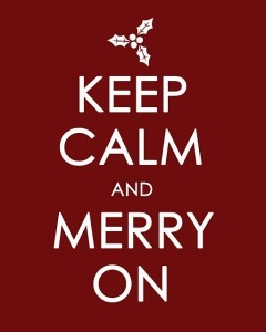 Keep Calm and Merry
